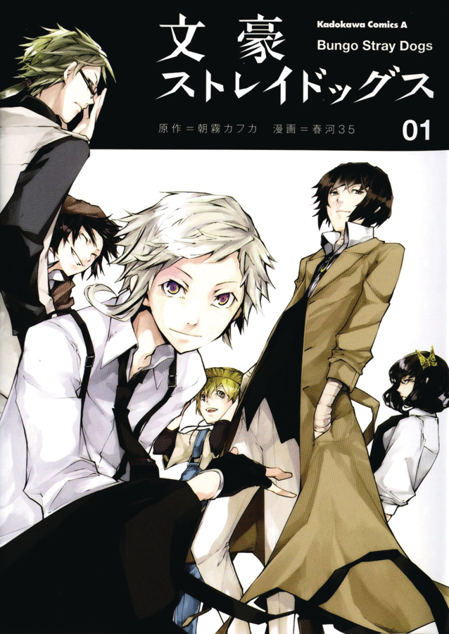 BUNGO STRAY DOGS GN VOL 01