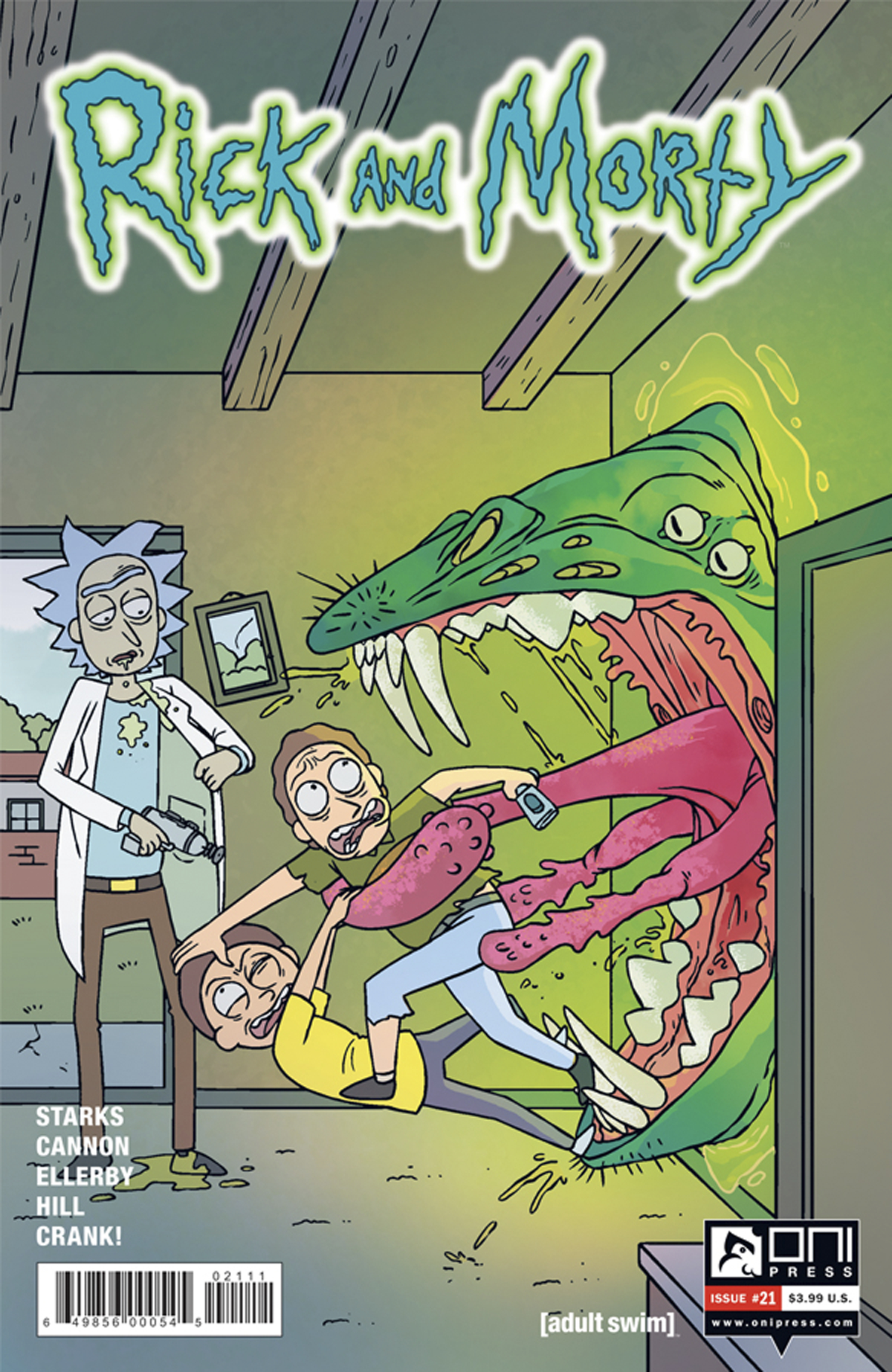 (USE OCT161714) RICK & MORTY #21