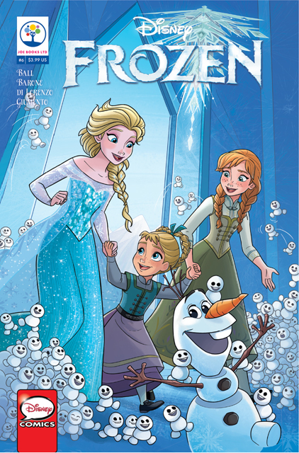 DISNEY FROZEN #6 (RES)