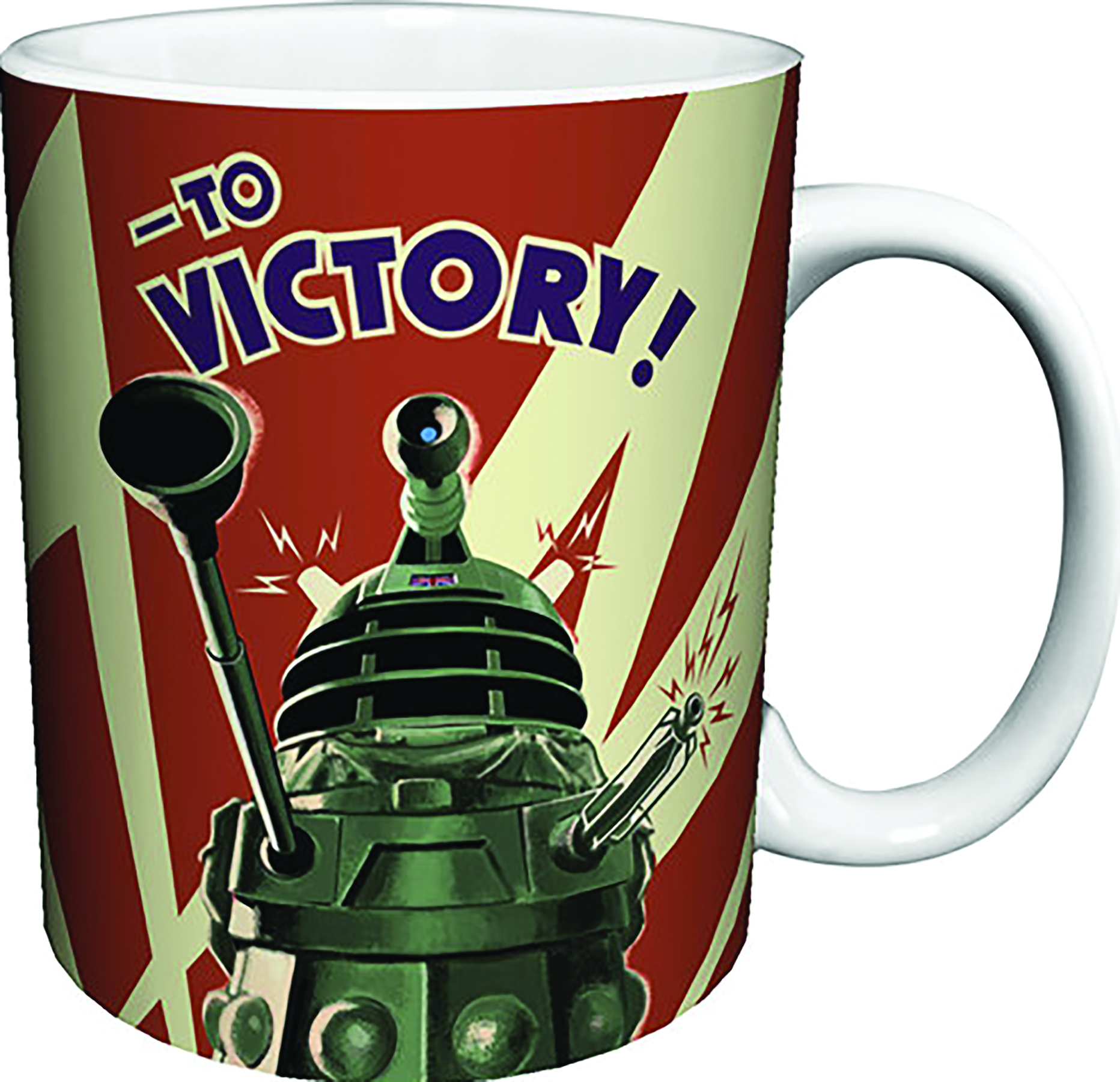DOCTOR WHO DALEK TO VICTORY MUG