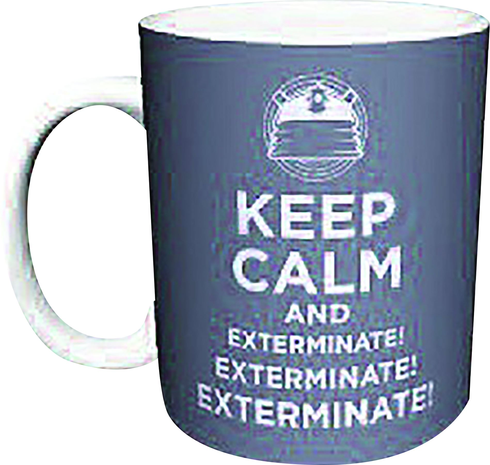DOCTOR WHO KEEP CALM AND EXTERMINATE MUG