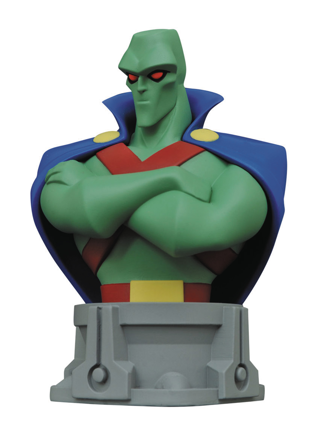 JL ANIMATED SERIES MARTIAN MANHUNTER BUST