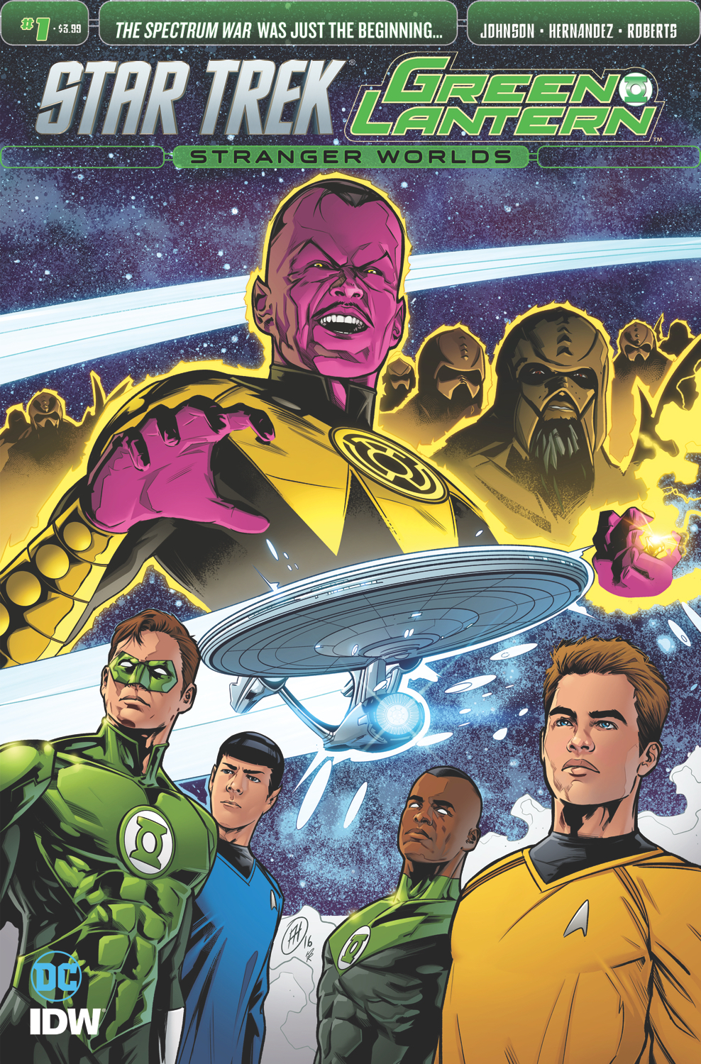 STAR TREK GREEN LANTERN VOL 2 #1