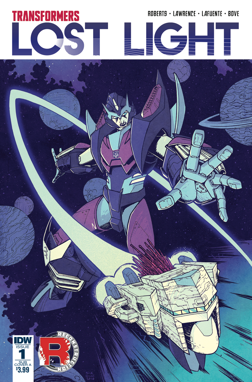 TRANSFORMERS LOST LIGHT #1 SUBSCRIPTION VAR A