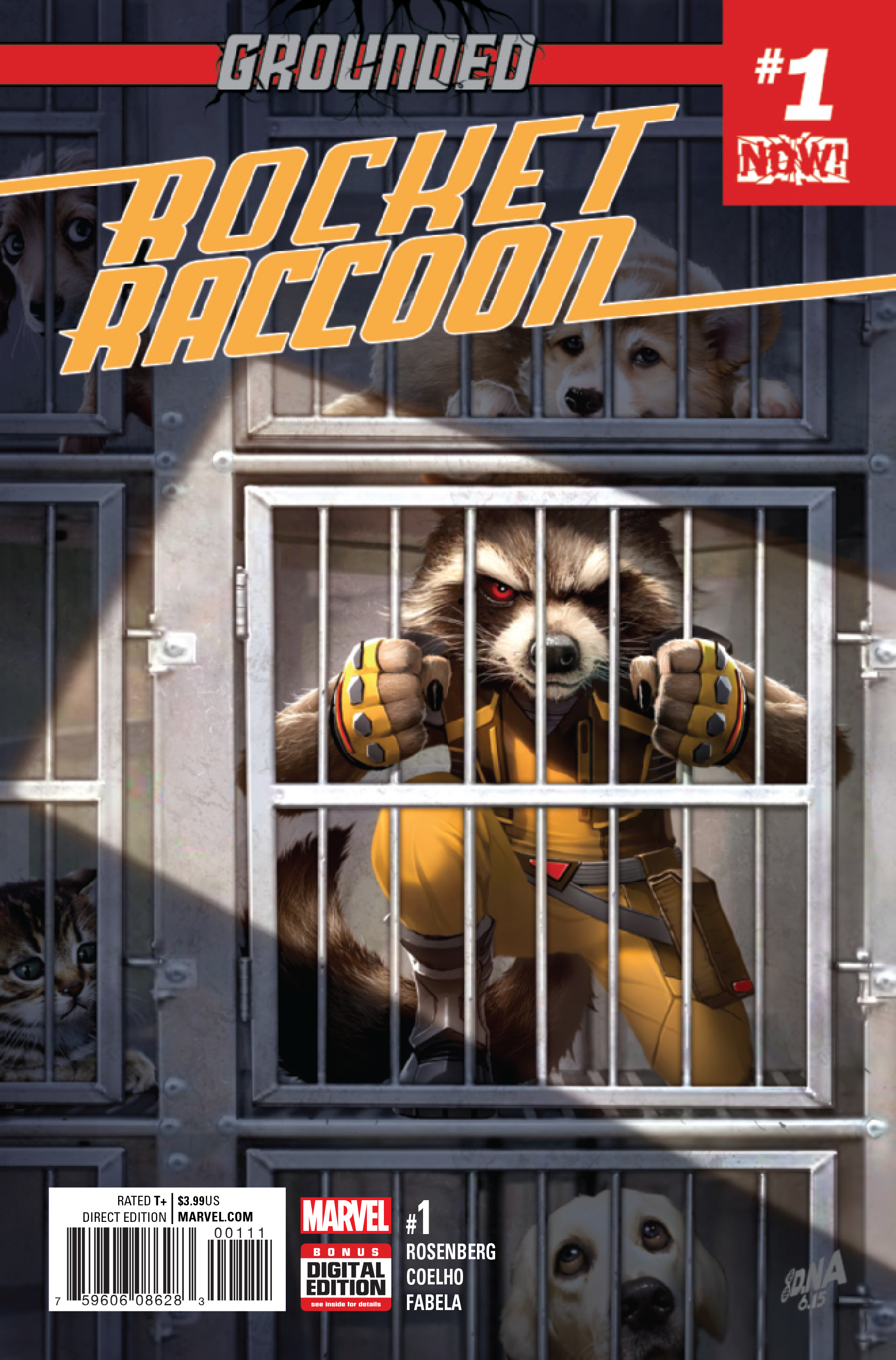 OCT160824 - ROCKET RACCOON #1 NOW - Previews World
