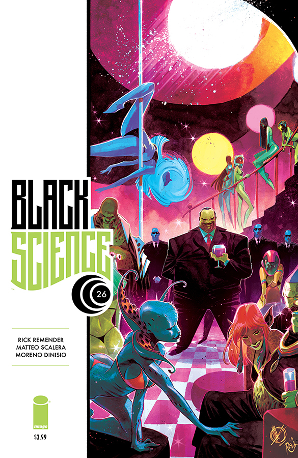 BLACK SCIENCE #26 (MR)