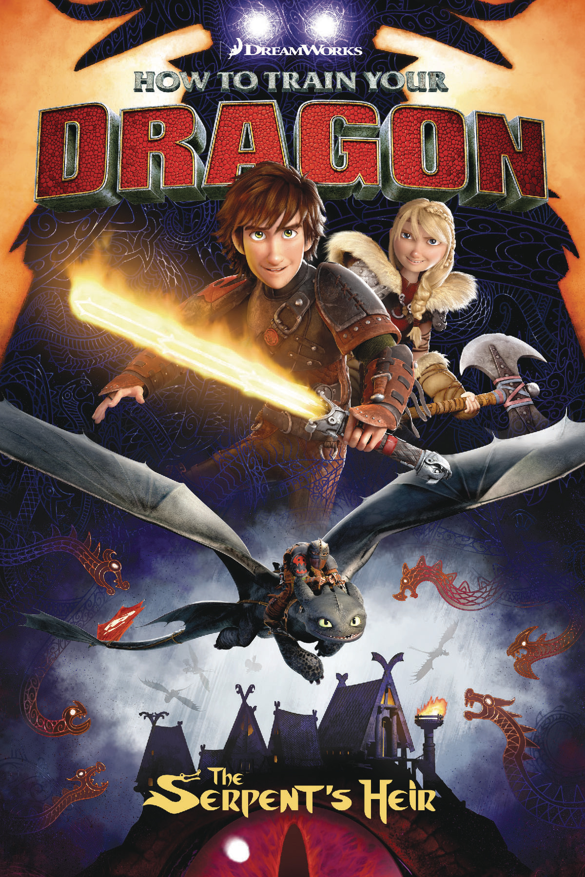 HOW TRAIN YOUR DRAGON SERPENTS HEIR TP (OCT160034)