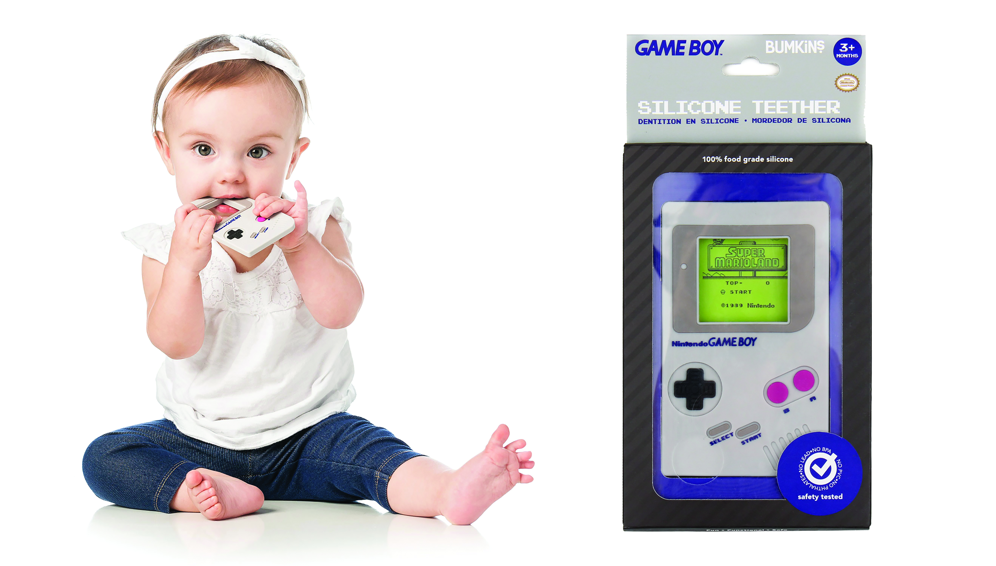 NINTENDO GAMEBOY HAND HELD TEETHER