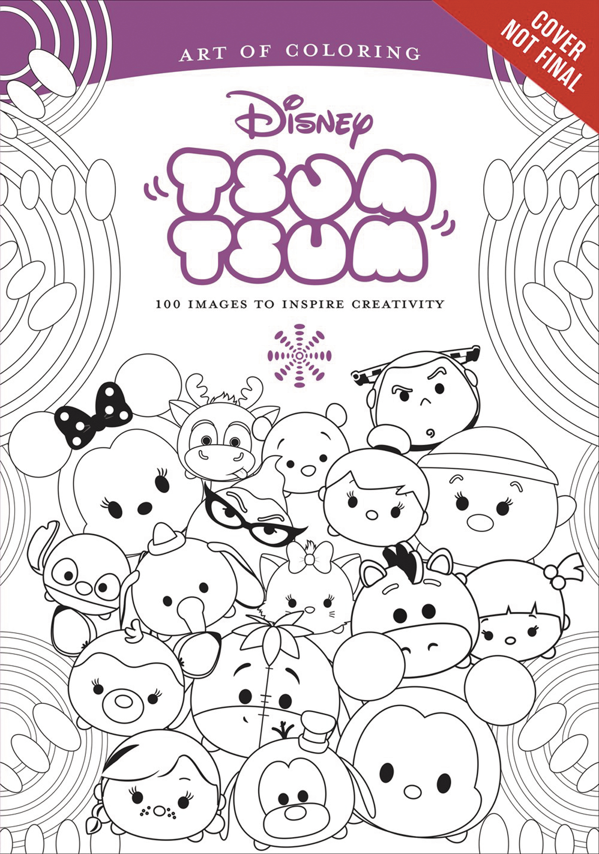 NOV162117 - ART OF COLORING TSUM TSUM SC - Previews World