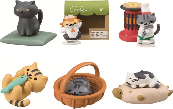 NEKO ATSUME KITTY COLLECTOR DESKTOP FIG V2 BMB DIS