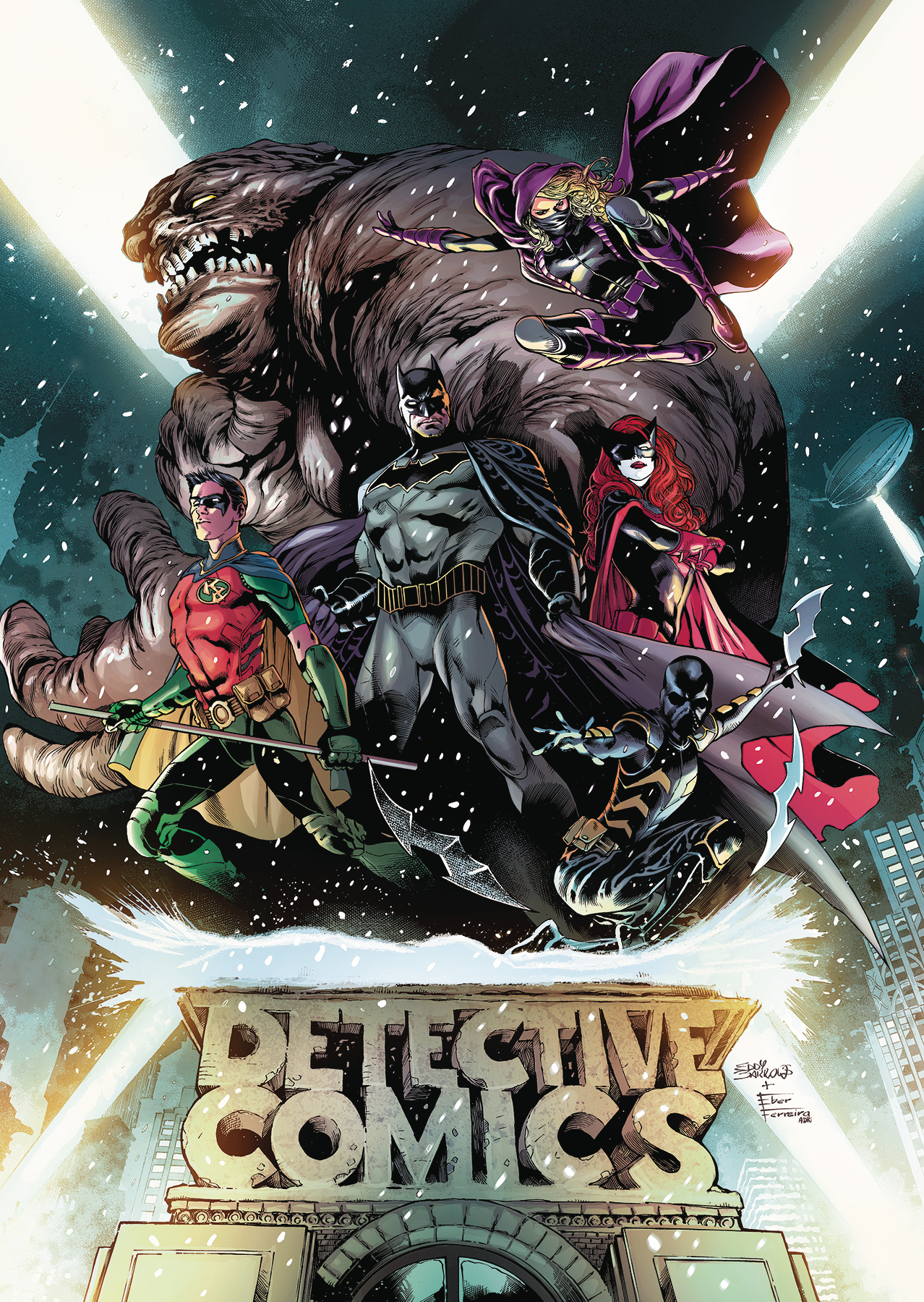 BATMAN DETECTIVE TP VOL 01 RISE OT BATMEN (REBIRTH)