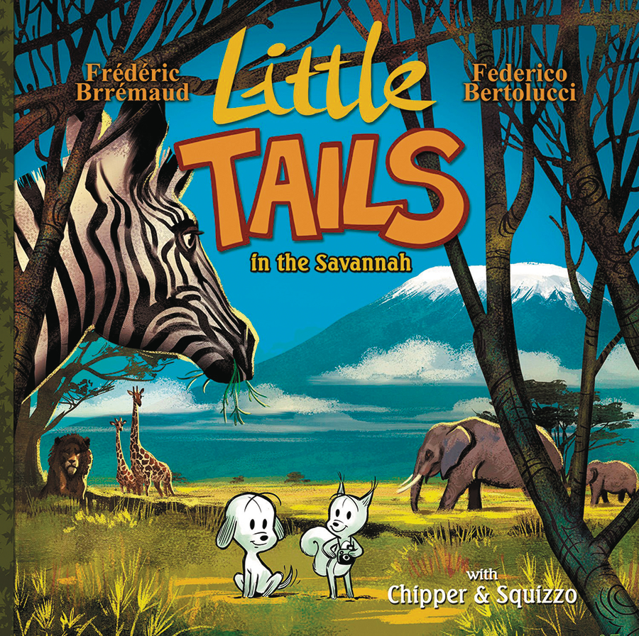 LITTLE TAILS IN THE SAVANNAH HC VOL 03