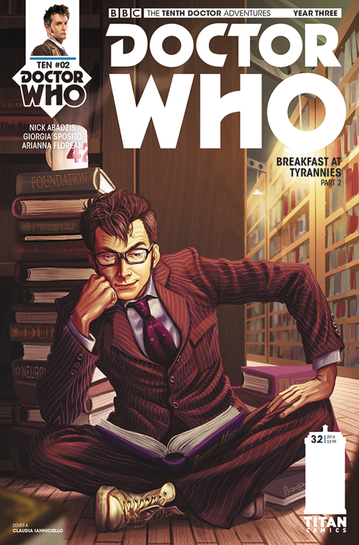 DOCTOR WHO 10TH YEAR THREE #2 CVR A IANNICIELLO