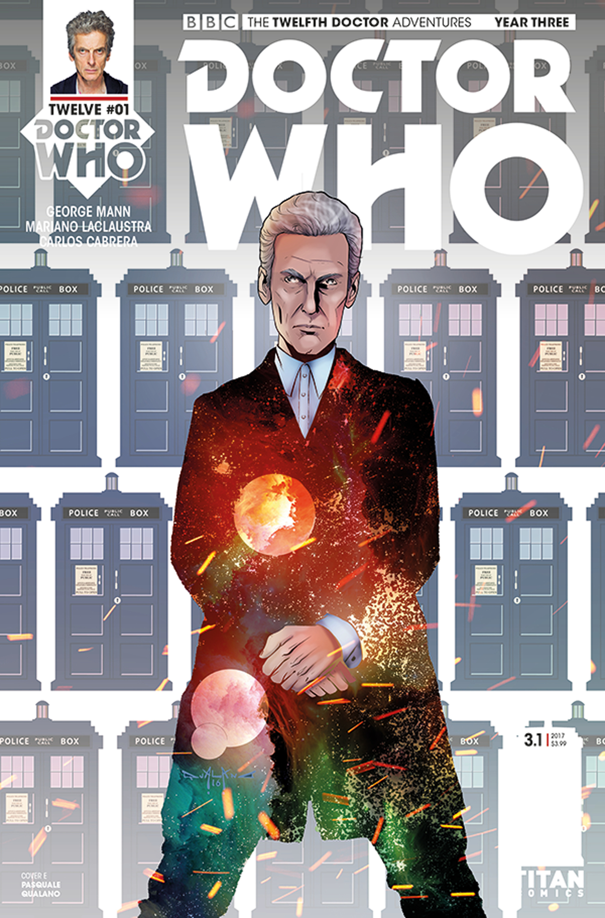 DOCTOR WHO 12TH YEAR THREE #1 CVR F QUALANO