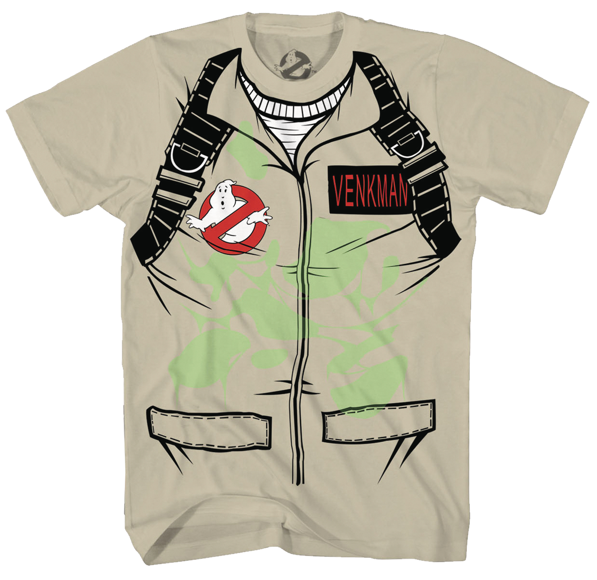 GHOSTBUSTERS VENKMAN COSTUME GID SAND T/S XL