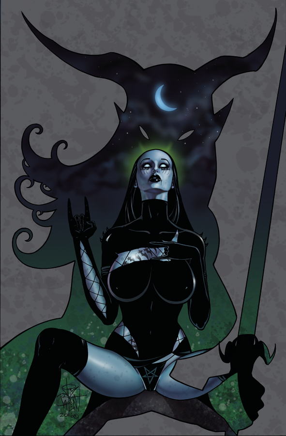TAROT WITCH OF THE BLACK ROSE #102 (MR)