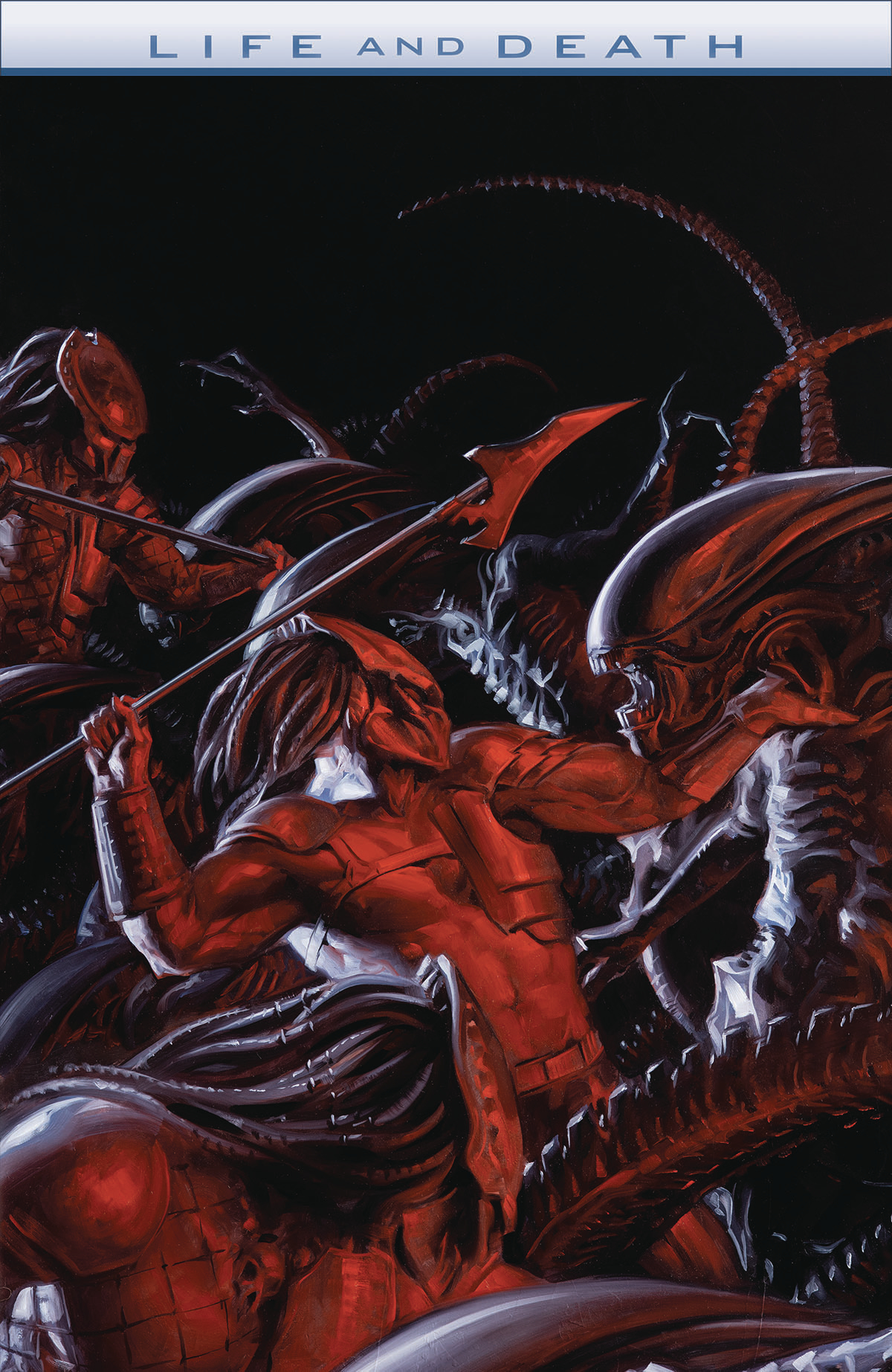 ALIENS VS PREDATOR LIFE AND DEATH #2