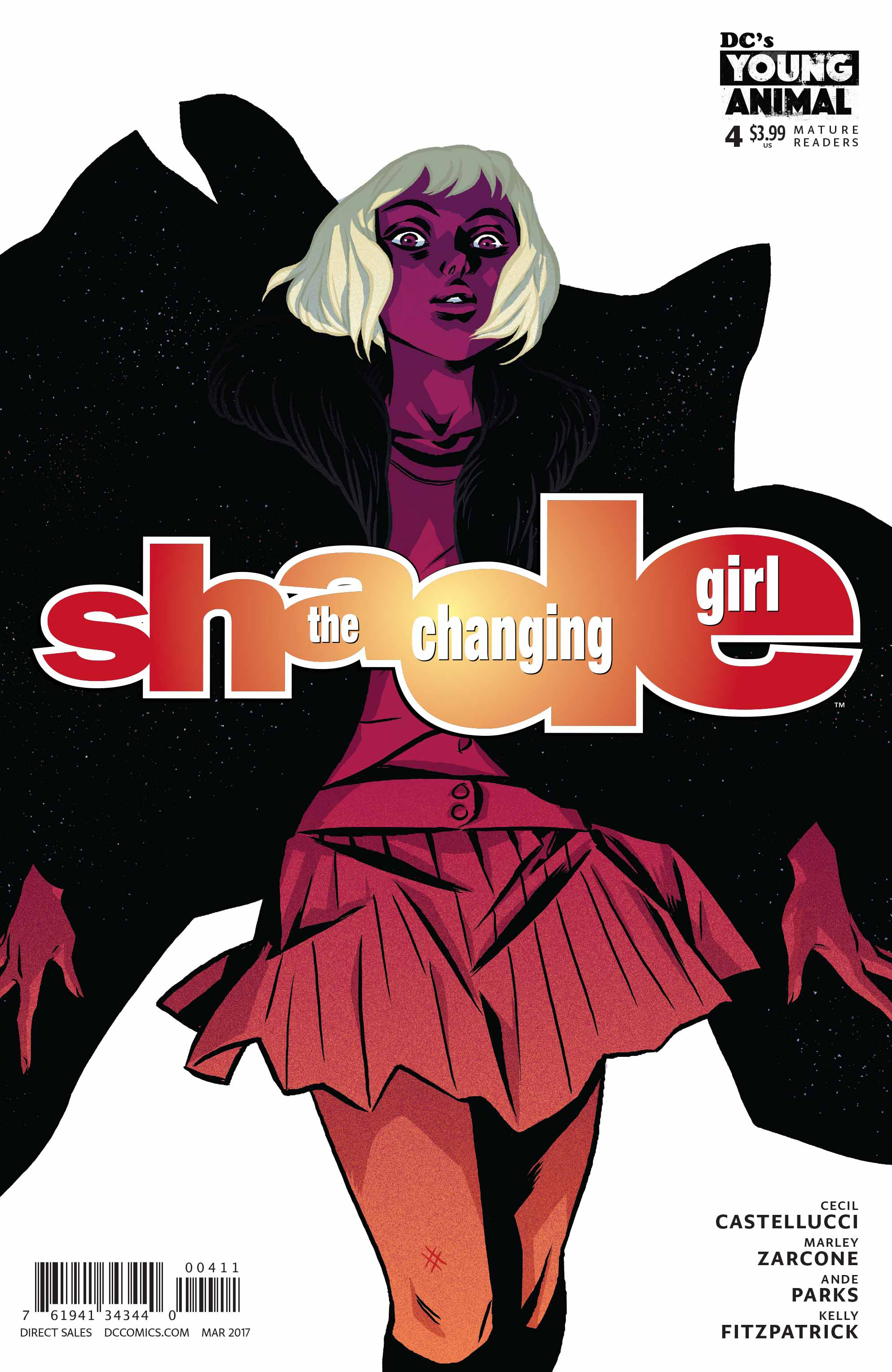 SHADE THE CHANGING GIRL #4 (MR)