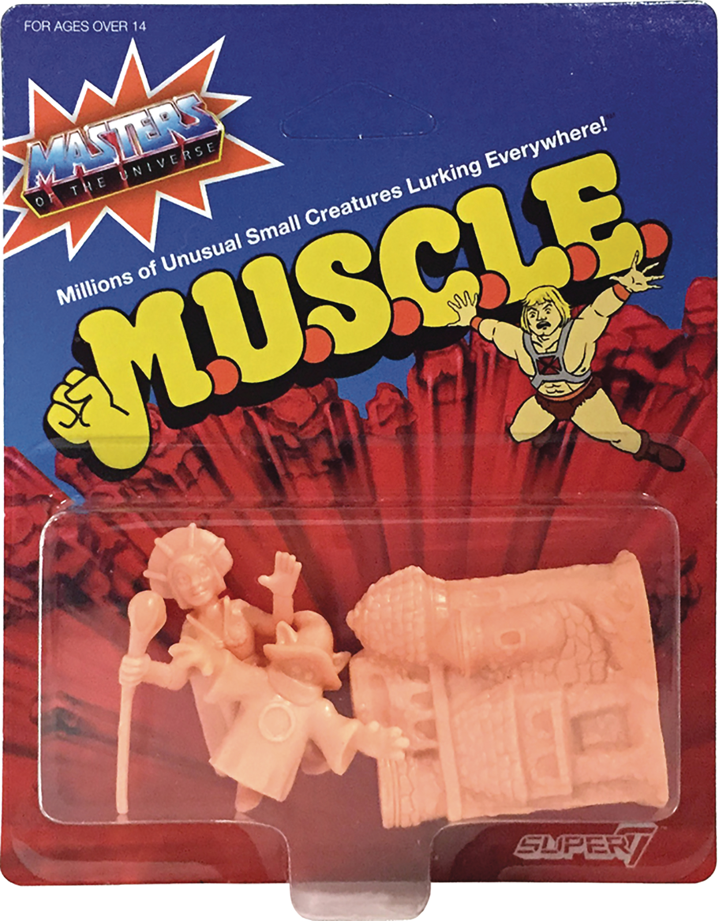 MOTU MUSCLE FIGURES WAVE 2 PACK D