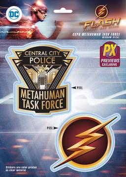 FLASH TV CCPD METAHUMAN TASKFORCE PX DECAL