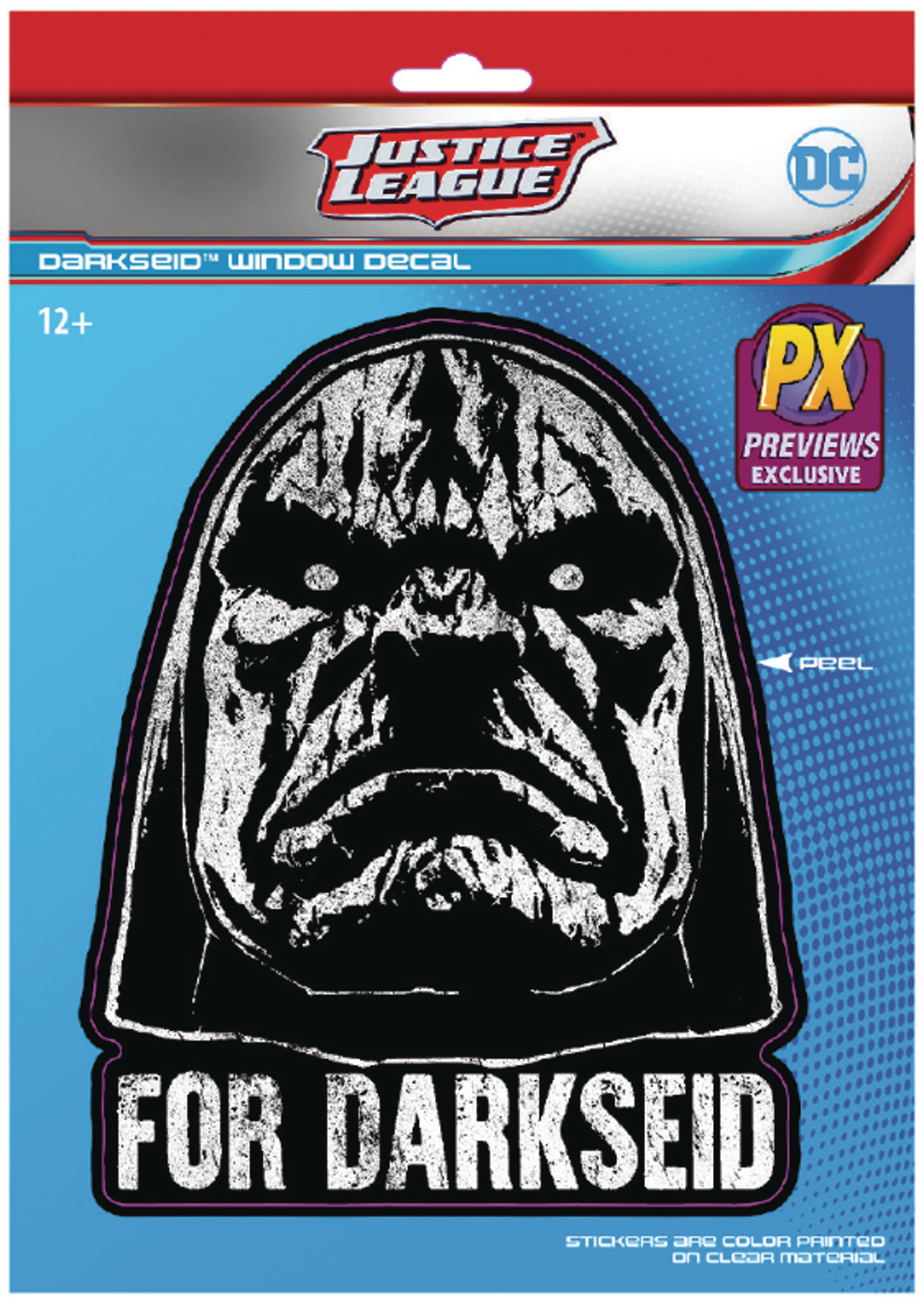 DC HEROES FOR DARKSEID PX DECAL