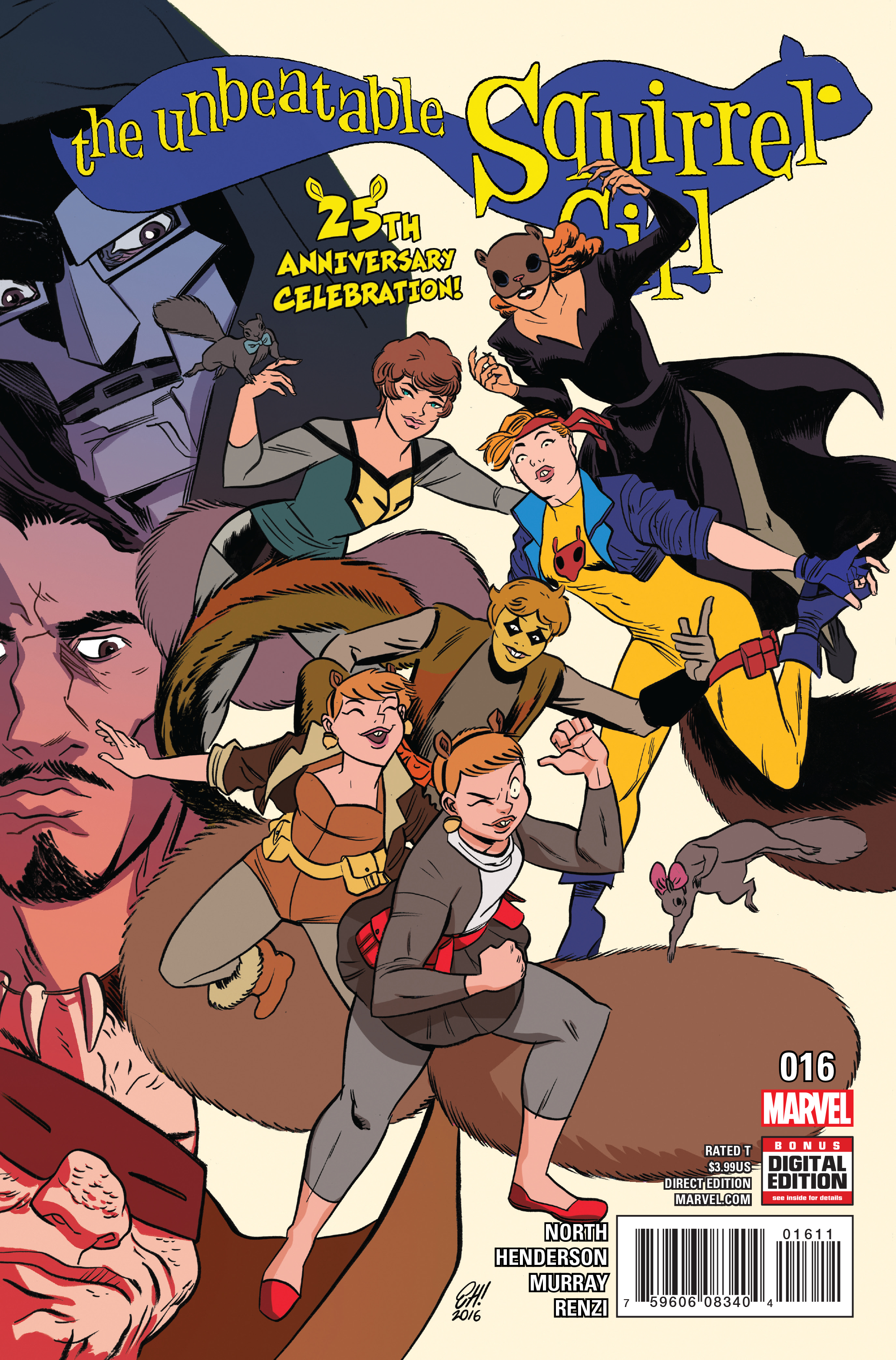 UNBEATABLE SQUIRREL GIRL #16 NOW