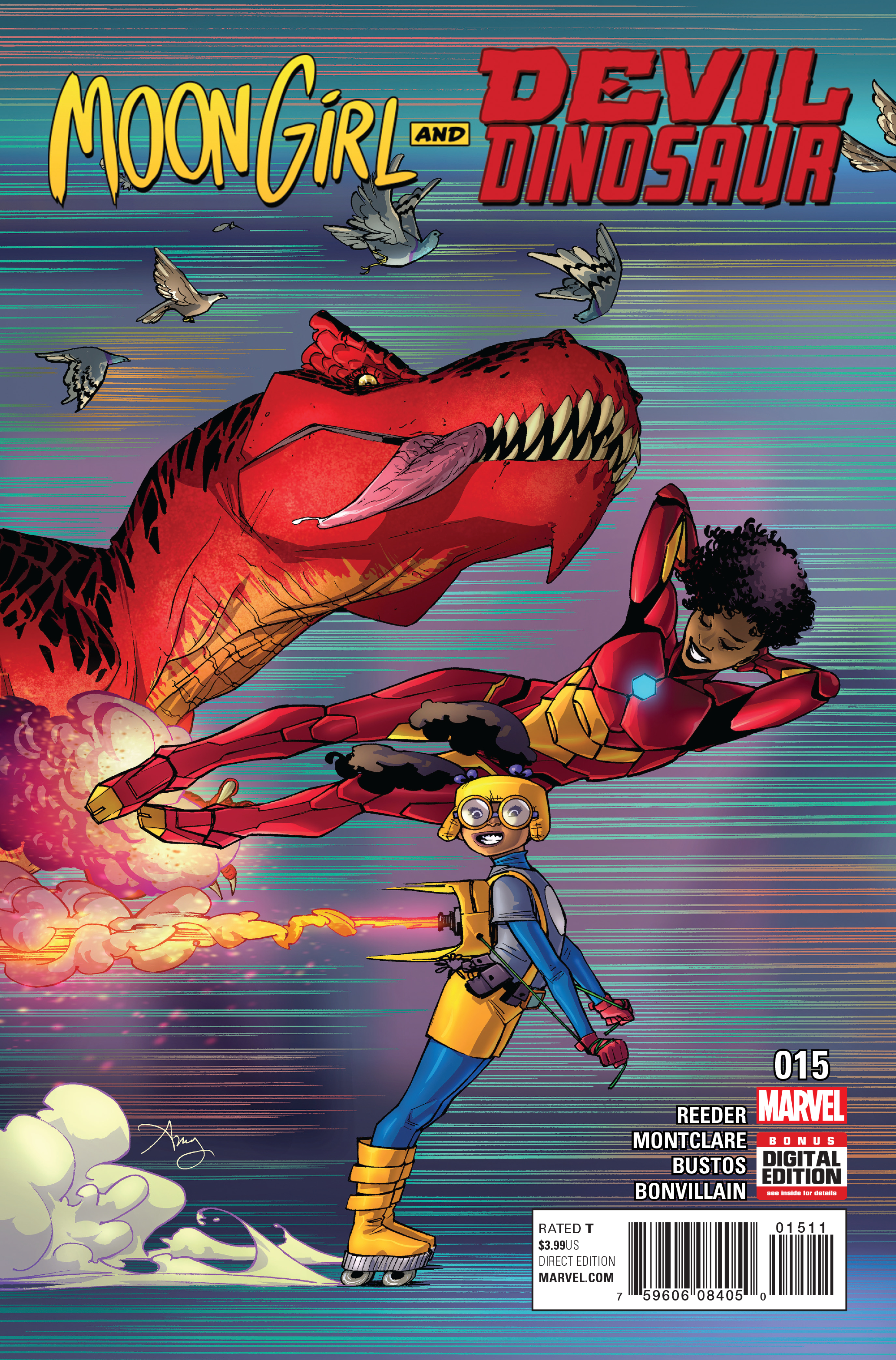 MOON GIRL AND DEVIL DINOSAUR #15