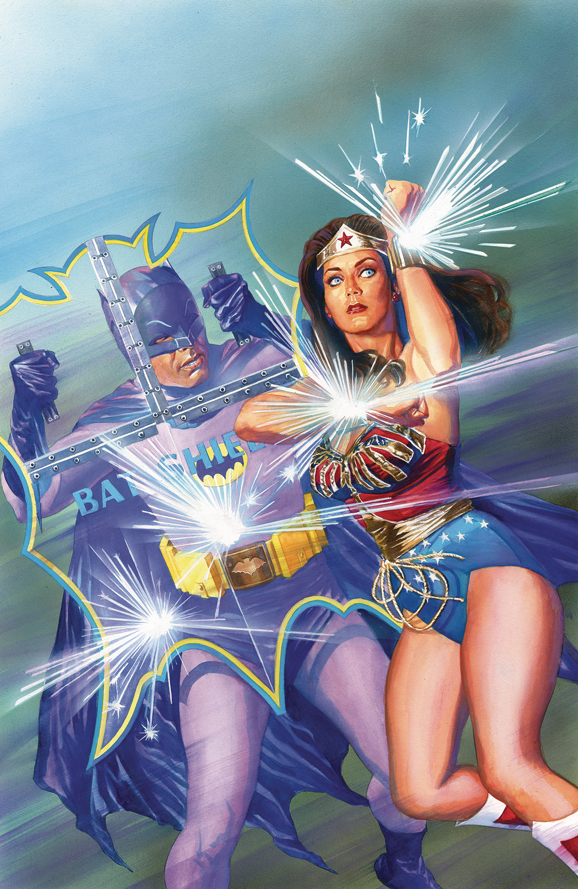 BATMAN 66 MEETS WONDER WOMAN 77 #1 (OF 6) VAR ED