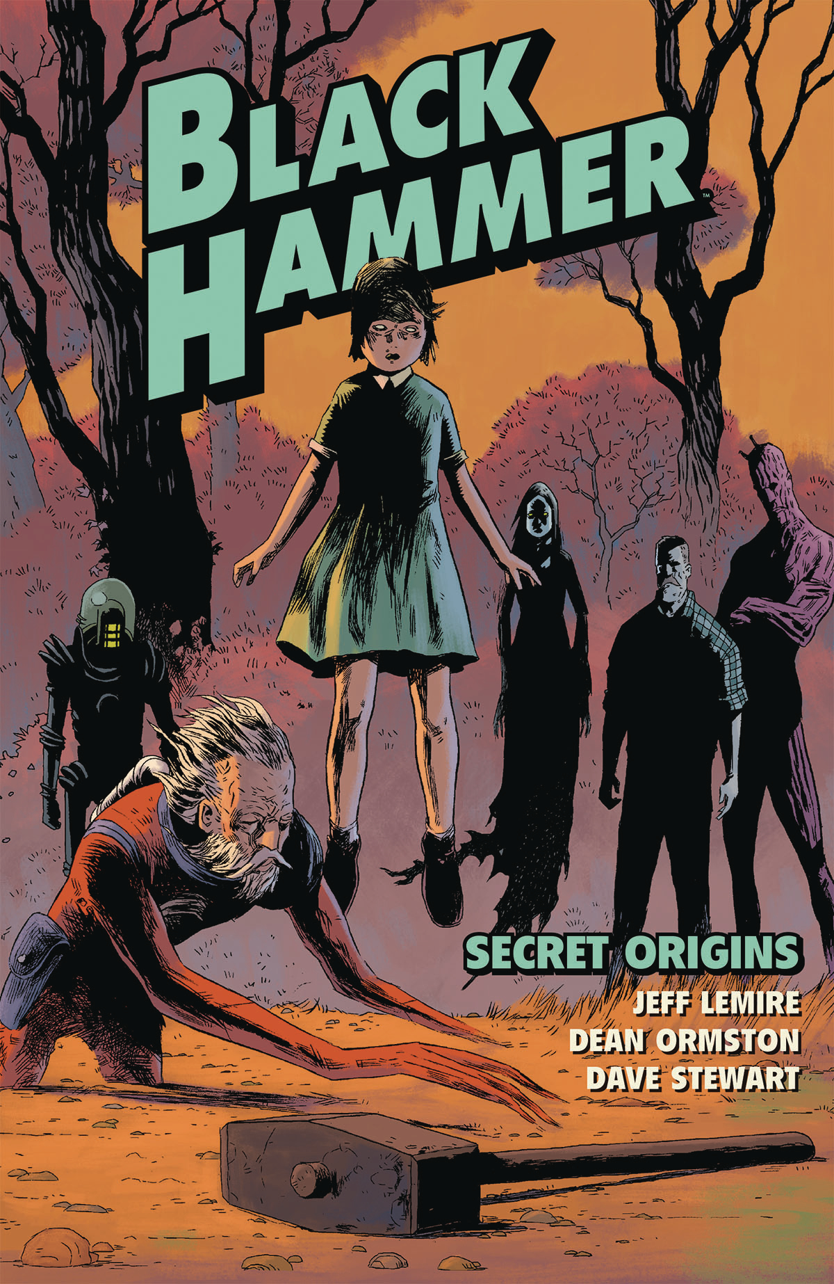 BLACK HAMMER TP VOL 01 SECRET ORIGINS