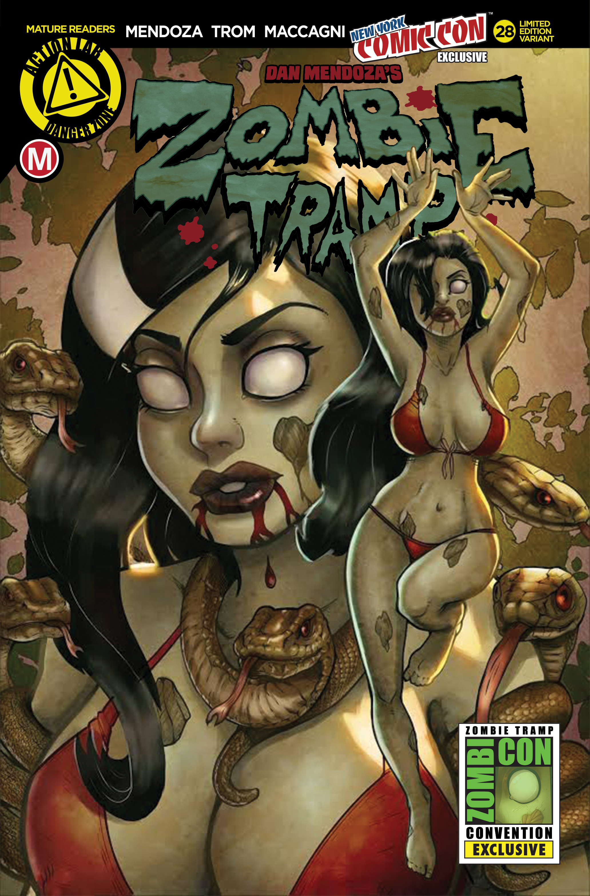 ZOMBIE TRAMP ONGOING #28 NYCC EX CVR (MR)