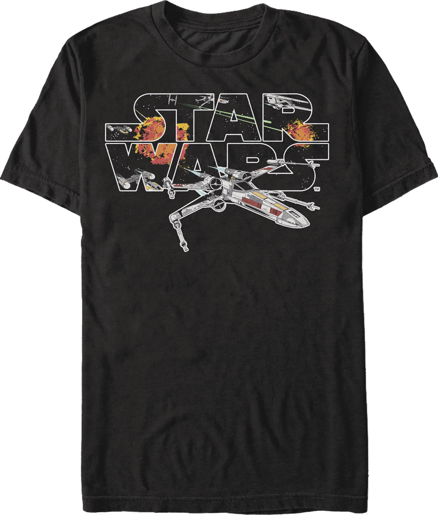 SW R1 BASIC X-WING BLACK T/S MED