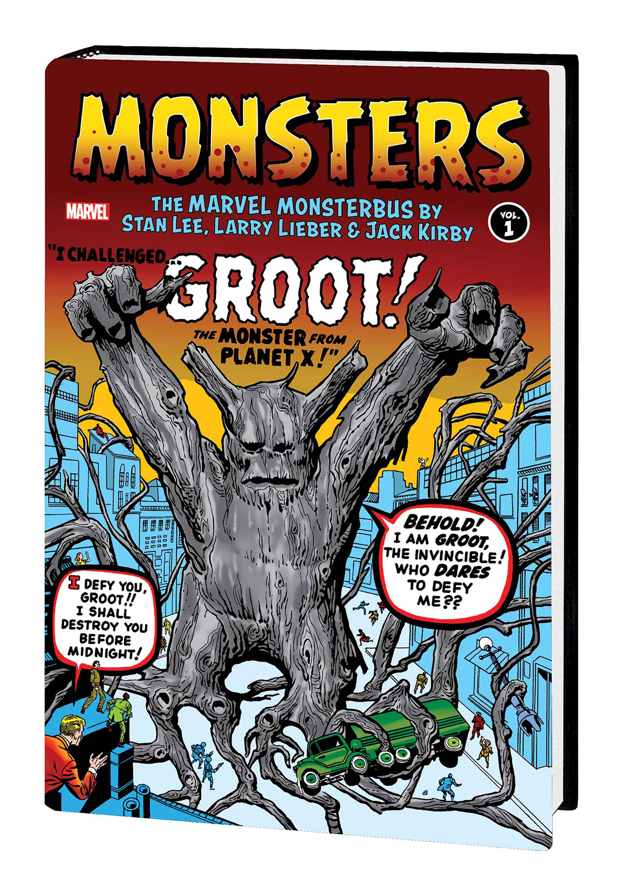 MONSTERS HC VOL 01 MARVEL MONSTERBUS BY LEE LIEBER KIRBY