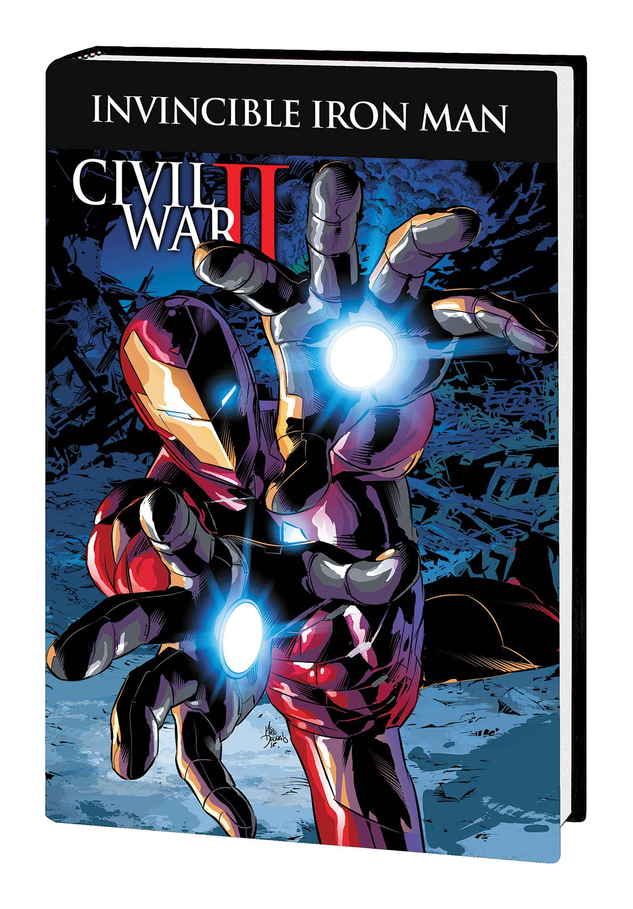 INVINCIBLE IRON MAN PREM HC VOL 03 CIVIL WAR II