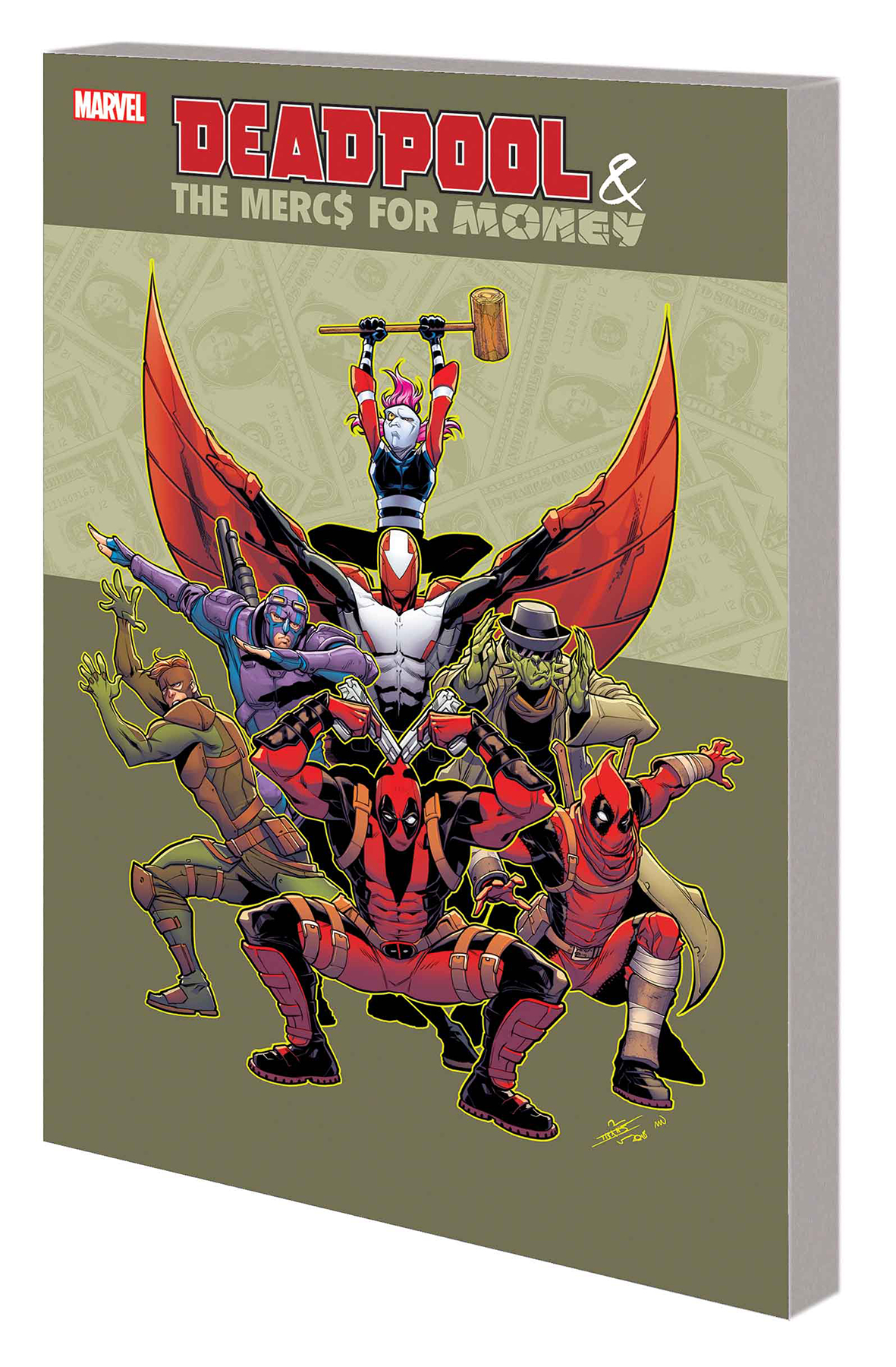 DEADPOOL AND MERCS FOR MONEY TP VOL 01 MO MERCS MO MONKEY