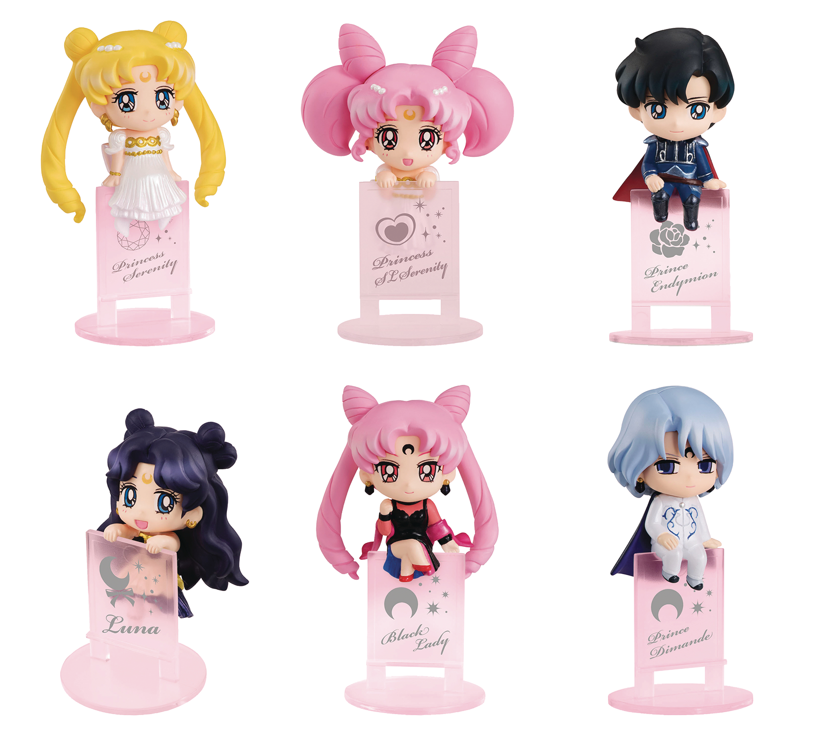 SAILOR MOON OCHATOMO NIGHT & DAY MINI FIG 8PC BMB DS