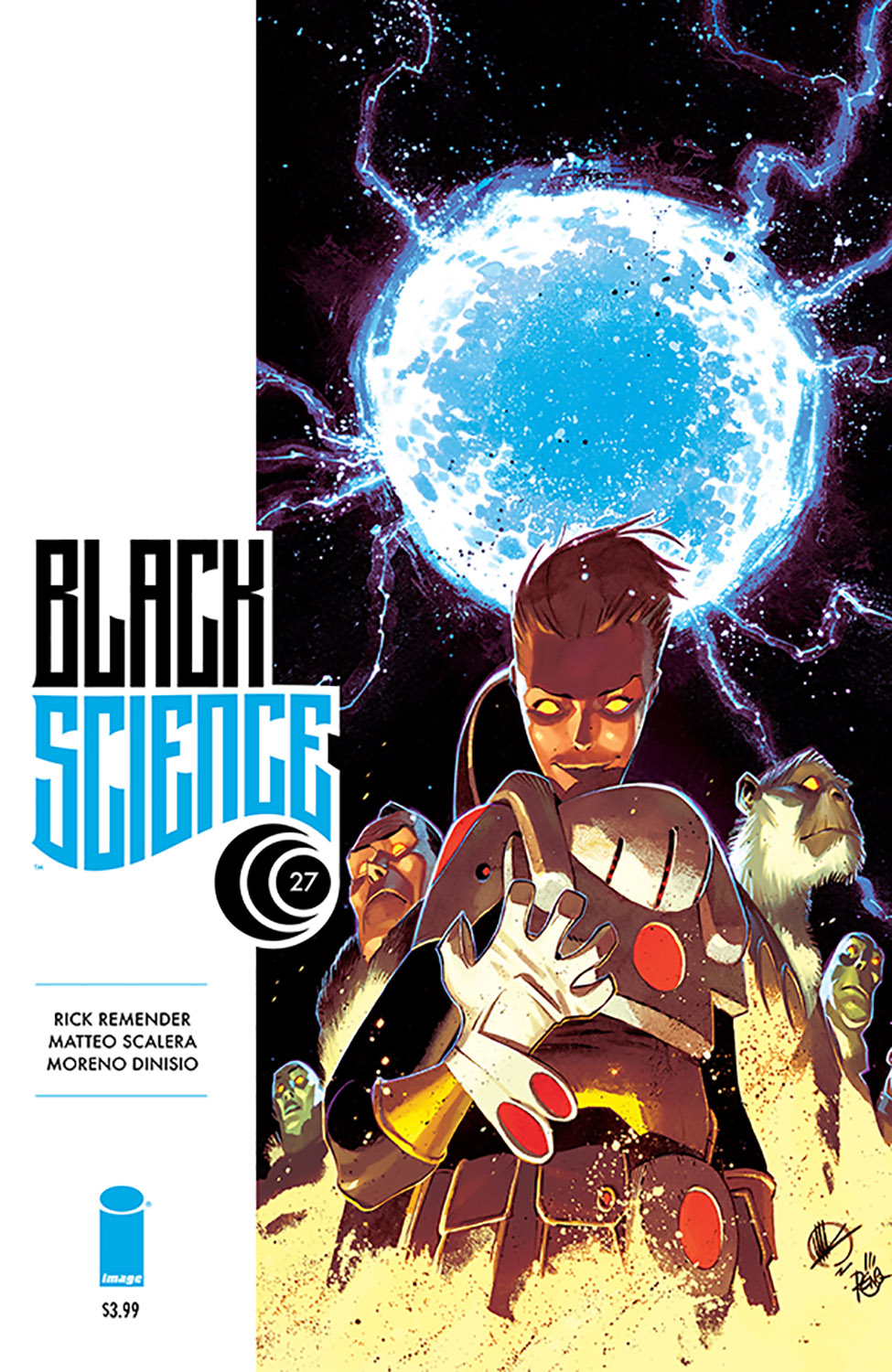 BLACK SCIENCE #27 (MR)