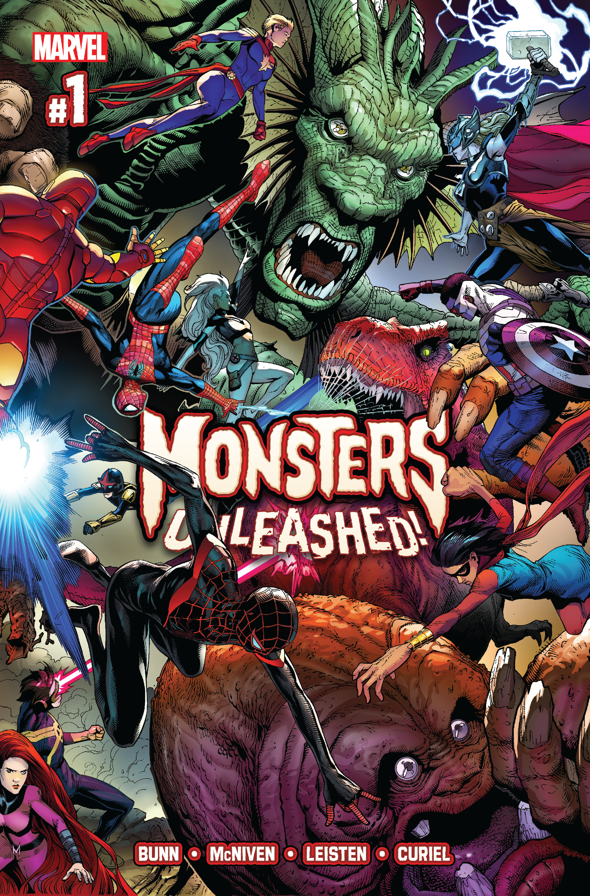 MONSTERS UNLEASHED #1 (OF 5)