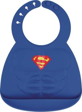 DC SUPERMAN MUSCLE SILICONE SUPERBIB