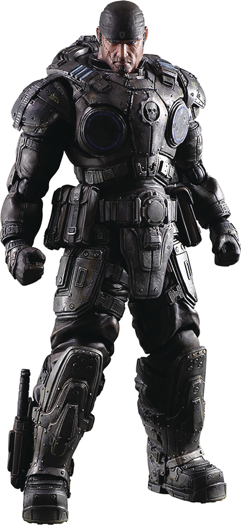 GEARS OF WAR MARCUS FENIX PLAY ARTS KAI AF