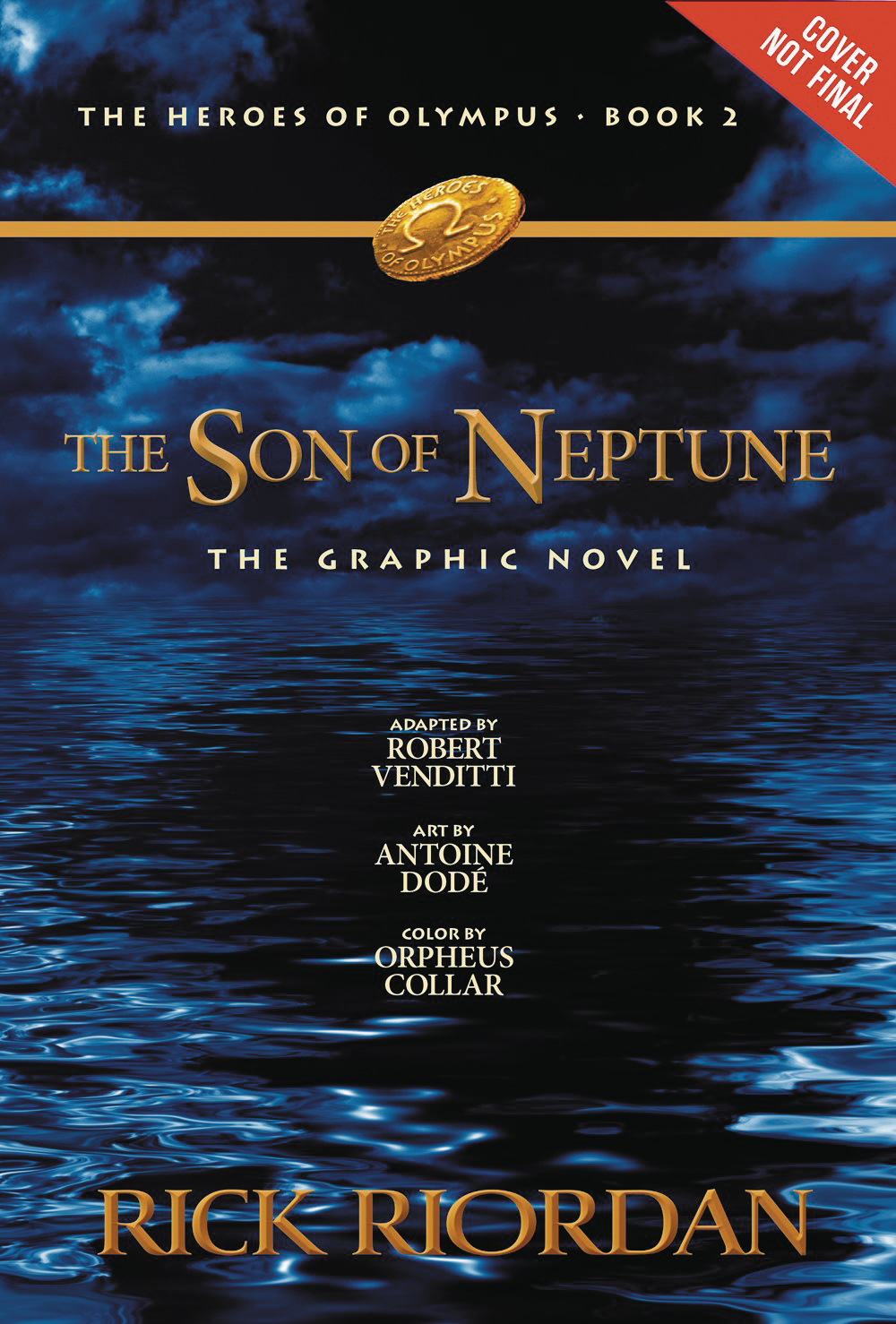 HEROES OF OLYMPUS GN VOL 02 SON OF NEPTUNE