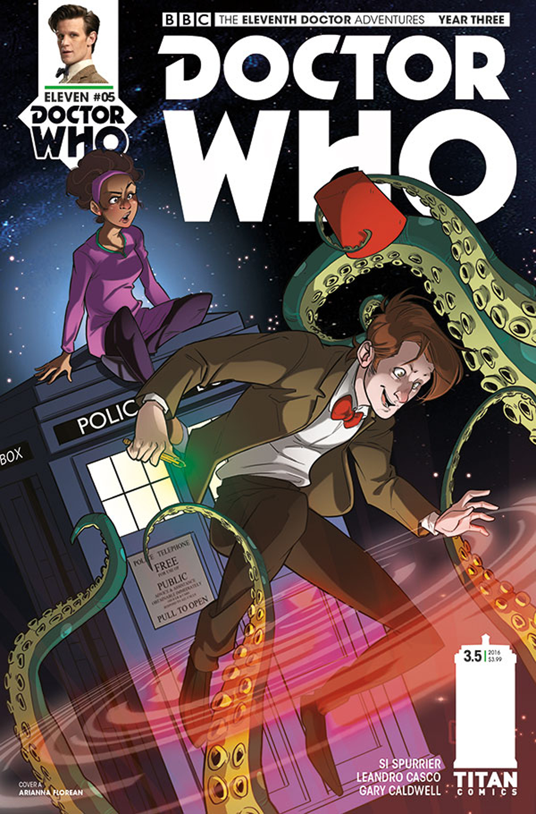 DOCTOR WHO 11TH YEAR THREE #5 CVR A FLOREAN