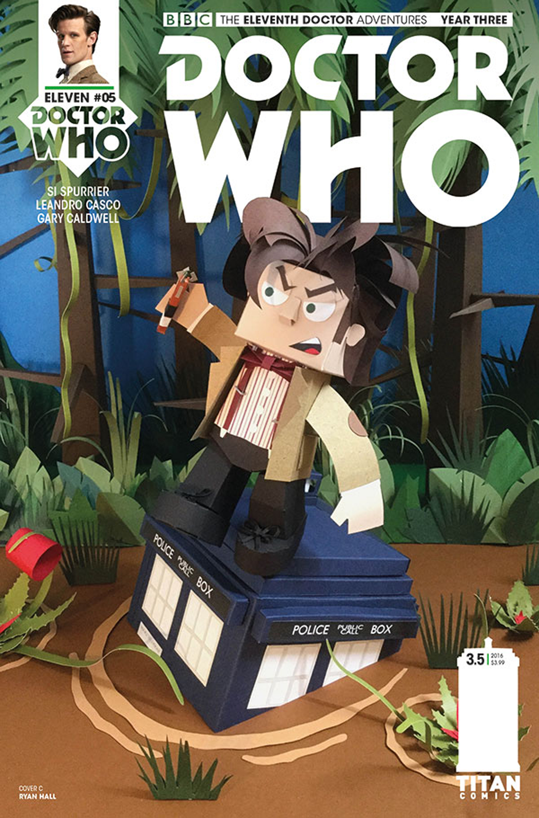 DOCTOR WHO 11TH YEAR THREE #5 CVR C PAPERCRAFT
