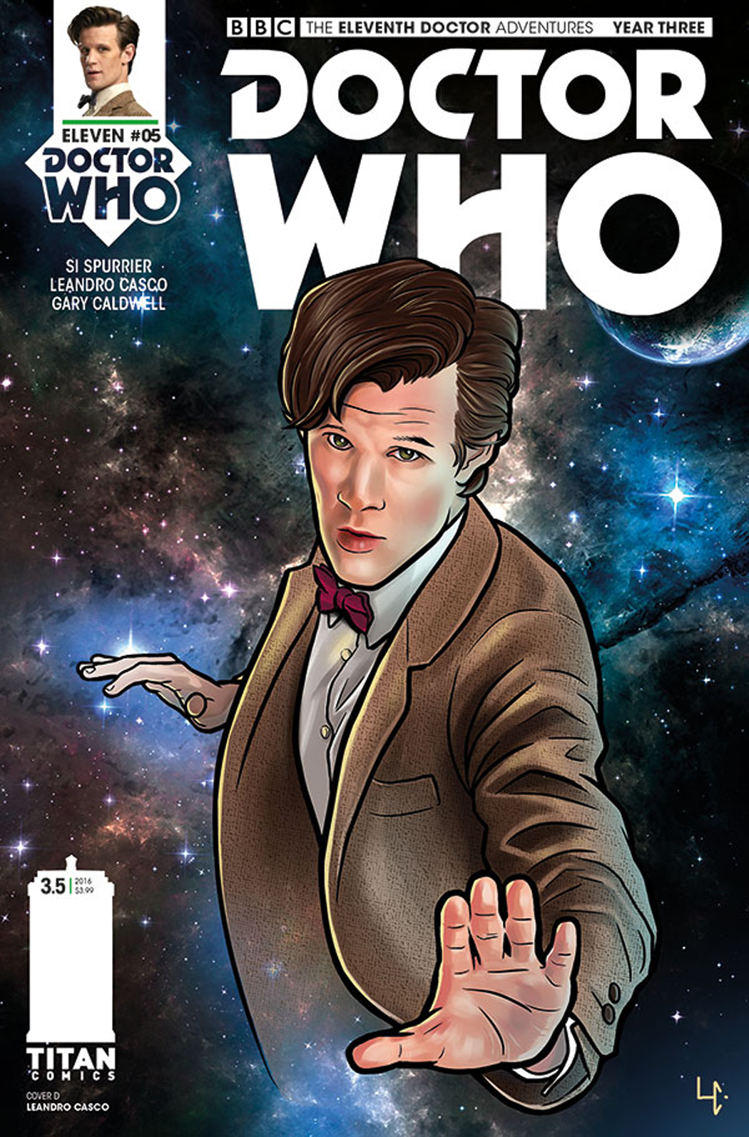 DOCTOR WHO 11TH YEAR THREE #5 CVR D CASCO