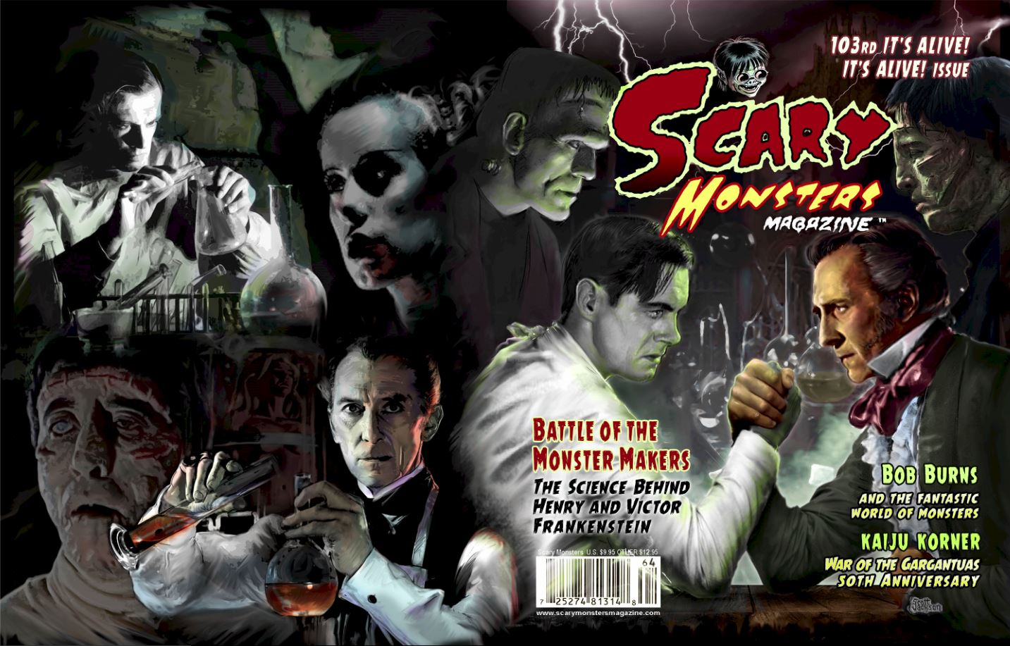 SEP168328 - SCARY MONSTERS MAGAZINE #103 - Previews World