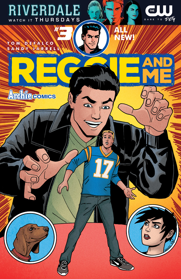 REGGIE AND ME #3 (OF 5) CVR A REG SANDY JARRELL
