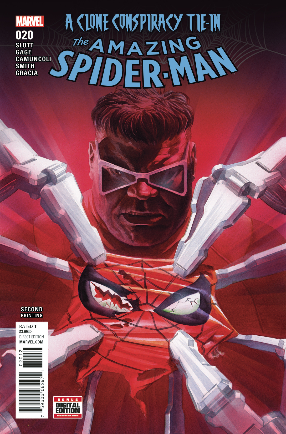 AMAZING SPIDER-MAN #20 2ND PTG ALEX ROSS VAR CC
