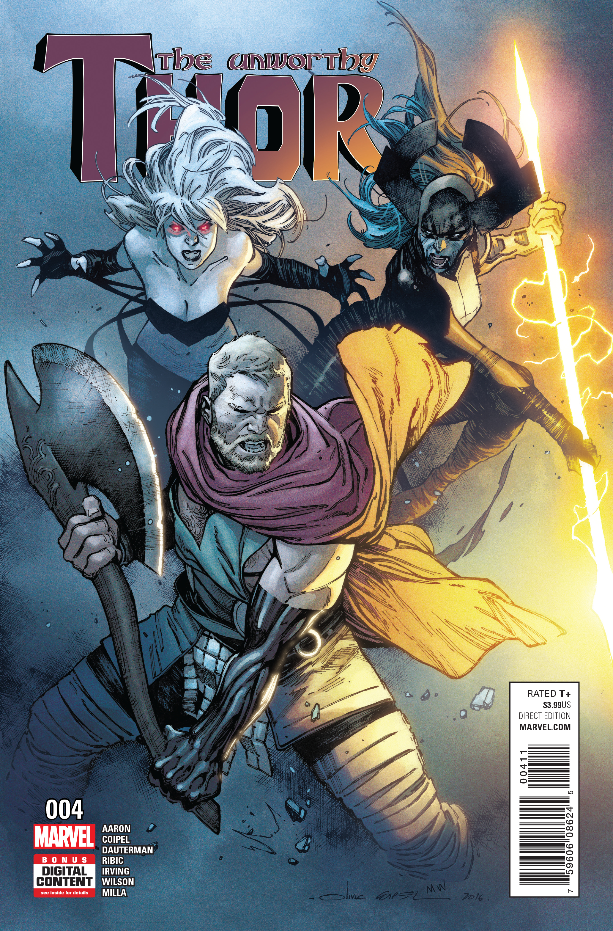 UNWORTHY THOR #4 (OF 5)