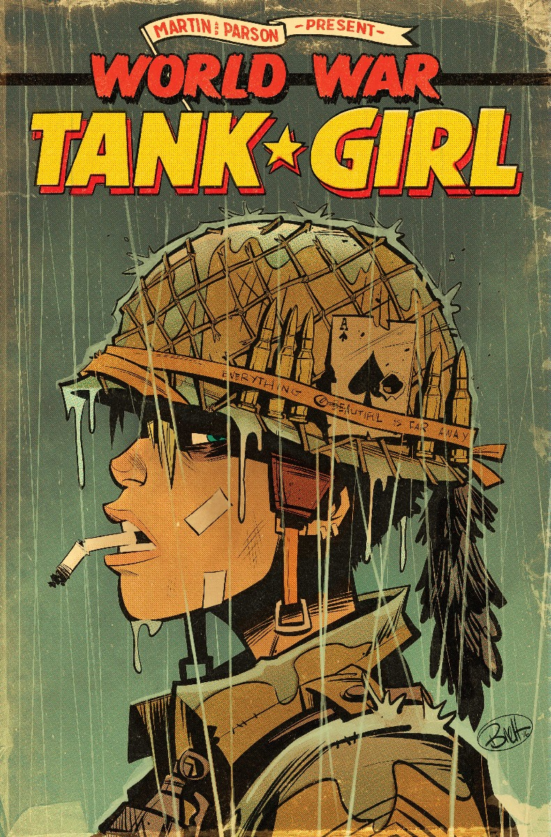 TANK GIRL WORLD WAR TANK GIRL #1