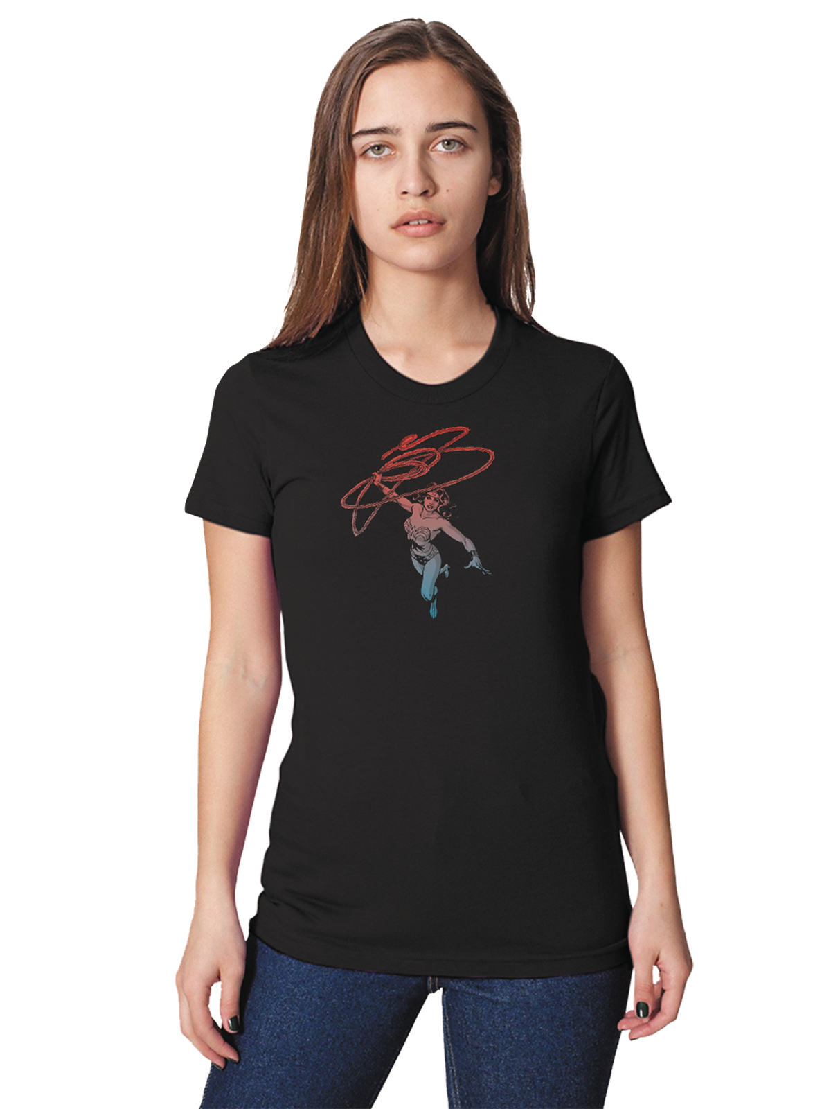 WONDER WOMAN RETRO WOMENS T/S XL