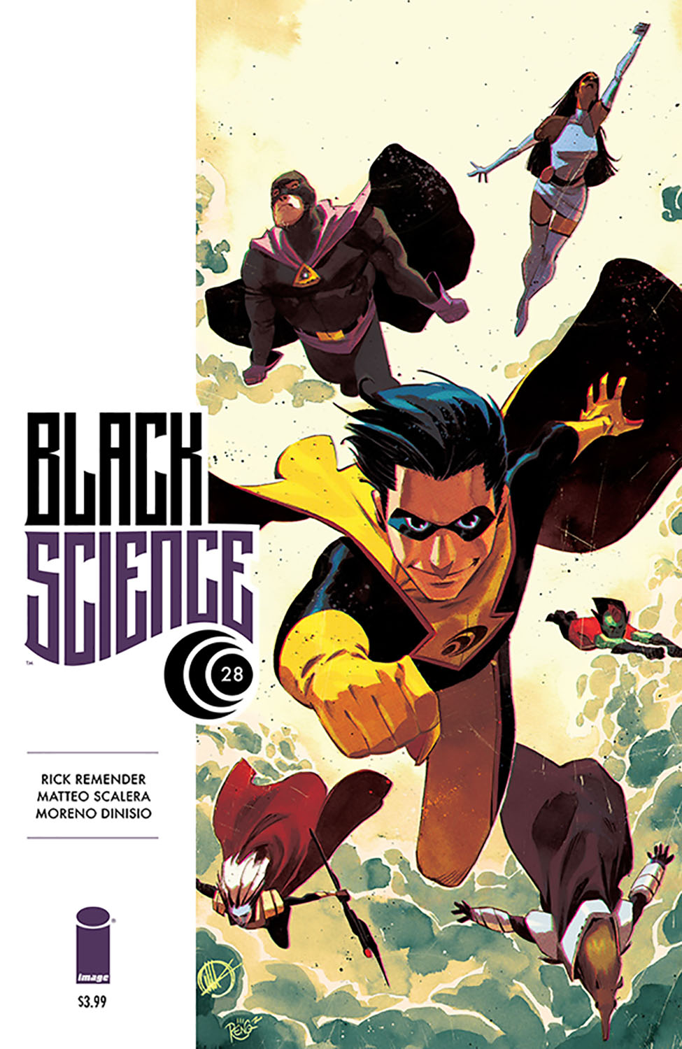 BLACK SCIENCE #28 (MR)